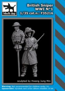 British sniper WWI No.1 (1 fig.)