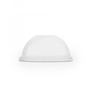 Coperchi a cupola in PLA CON foro - linea Premium