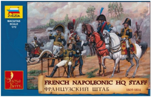 French Napoleonic HQ Staff
