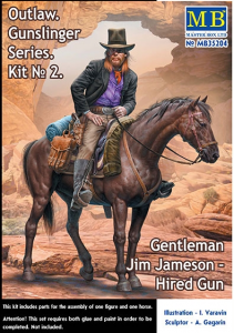 Gentleman Jim Jameson - Hired Gun