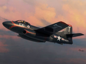 F3D-2 Skyknight over Korea&Red Rippers