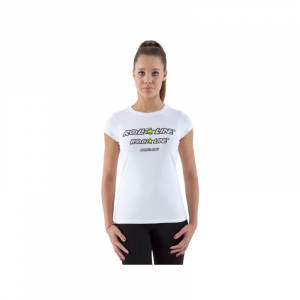 T-Shirt Donna Roll Line Bianco