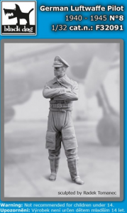 German Luftwaffe pilot N°8 1940-45