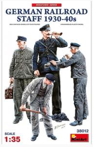 German Railroad Staff 1930-40s