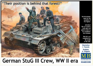 German StuG III crew WW II era