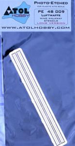 Luftwaffe wing walkway stencils LONG