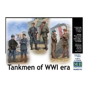 Tankmen of WWI era