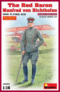 THE RED BARON Manfred von Richthofen WWI FLYING ACE
