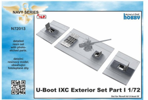 U-Boot IX Exterior Set Part I, for Revell kit