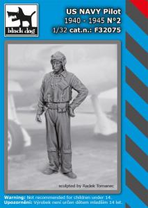 US NAVY pilot 1940-45 No.2 (1 fig.)