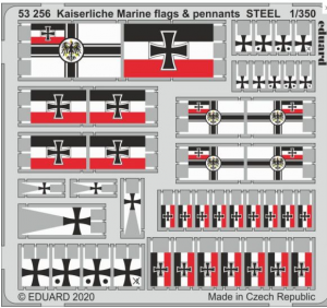 Kaiserlische Marine Flags & Pennants Steel