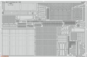 SET USS CV-10 Yorktown hull (TRUMP)