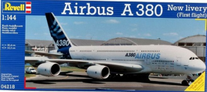 A-380 AIRBUS NEW LIVERY