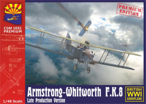 Armstrong-Whitworth F.K.8 Late production version