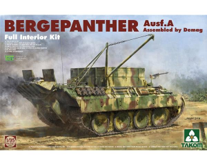 Bergepanther Ausf.A Assembled by Demag production w/ full interior kit