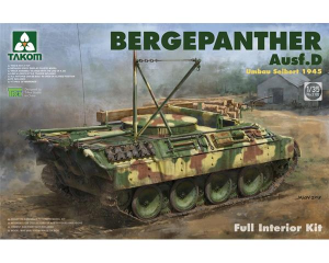 Bergepanther Ausf.D Umbau Seibert 1945 production w/ full interior kit