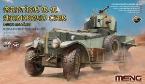 British Rolls-Royce Armoured Car