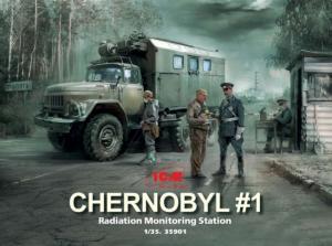 Chernobyl No.1 Radiation monitoring station