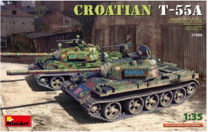 Croatian Medium Tank CROATIAN T-55A