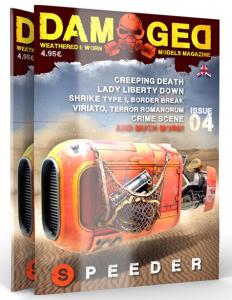 DAMAGED MAGAZINE 04 - english