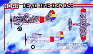 Dewoitine D.27/D.53 Spanish Republican AF