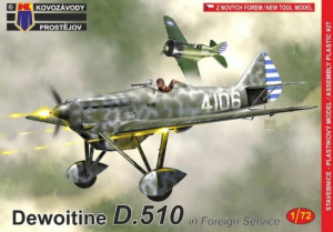 Dewoitine D.510 'in Foreign service'