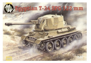 EGYPTIAN T-34 SPG 122MM