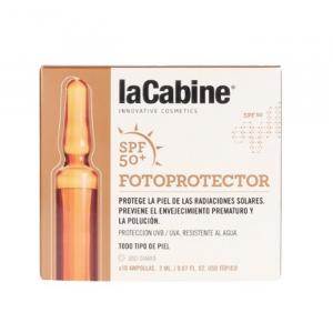 La Cabine Photoprotective Ampoules Spf50 2x10ml