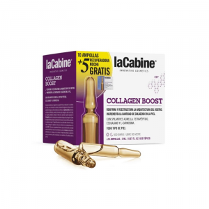 La Cabine Collagen Boost Ampoules 10x2ml + Night Recovery Ampoules 5x2ml