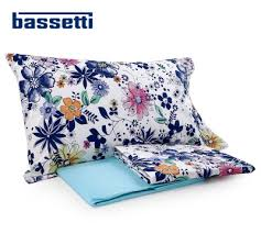 COMPLETO LENZUOLA COPRILETTO BASSETTI FLOWER POWER