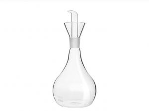 Ampolla vetro fiaschetta olio aceto borosilicato antiurto