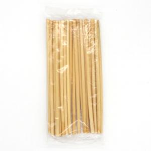 Cannucce bibite coctail 20cm bamboo confezione 24pz