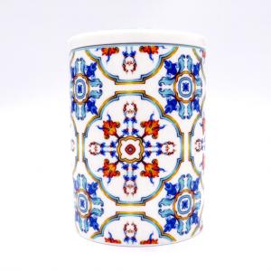 Barattolo porcellana Medicea h13 cm scatola regalo