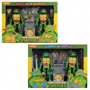 Teenage Mutant Ninja Turtles: Action Figure Animation Series - Wave 2 Michelangelo, Raffaello, Leonardo, Donatello​​​​​​​