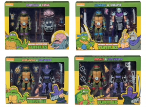 Teenage Mutant Ninja Turtles: Action Figure Animation Series - Wave 1 completa