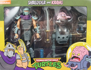 Teenage Mutant Ninja Turtles: Action Figure Animation Series - Wave 2 Shredder & Krang