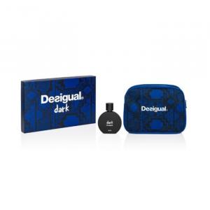 Desigual Dark Man Eau De Toilette Spray 100ml Set 2 Parti 2020