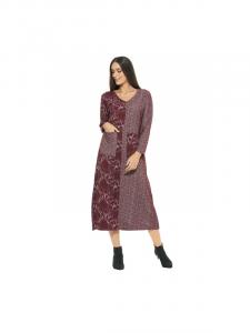 Vestito linea taglie comode Happy Baba | Abbigliamento inverno curvy online