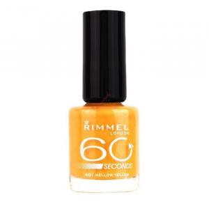 Rimmel London 60 Seconds Nail Polish 401 Mellow Yellow 8ml