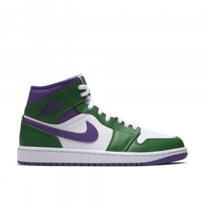 Jordan AIr Mid Aloe Verde Purple da Uomo
