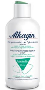 Alkagin detergente intimo attivo con complesso antimicrobico a pH acido 250ml