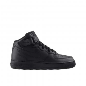 Nike Air Force 1 Mid Total Black Unisex