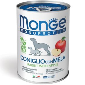 MONGE MONOPROTEICO FRUIT 400GR - 6 pezzi