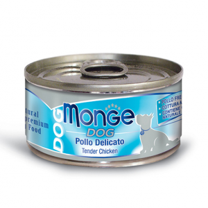 MONGE DOG NATURAL 95gr - 6pezzi