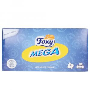 Foxy Facial Mega Pañuelos 200 Uds