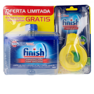 Finish Wash Finish Limpiamáquinas 250ml Ambientador Lavavajillas
