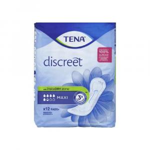 Tena lady Assorbenti Discreet Maxi Tripla Protezione 12 Pezzi