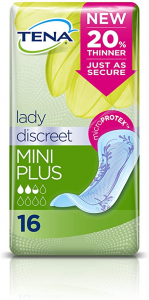 Tena Lady Discreet Mini Plus 16 Assorbenti