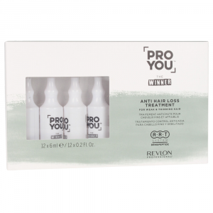 Revlon Proyou The Winner Anti Hair Loss Treatment 12x 6ml