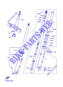 Coperchio Yamaha WR/YZF-R6/T-Max/XJR/FZS Fazer/MT-03